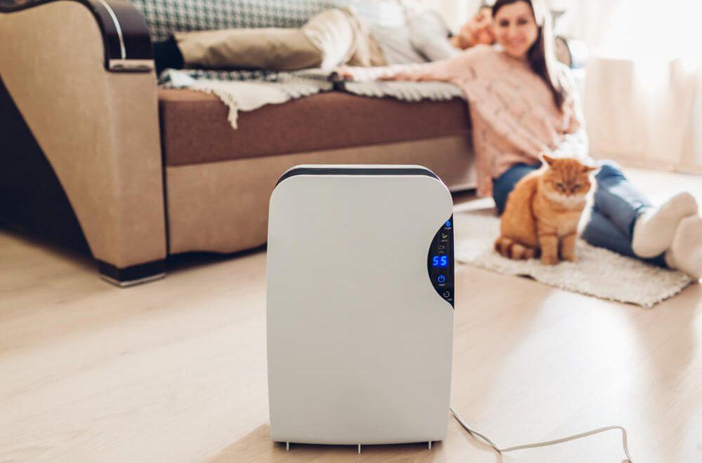 wilgotnosc powietrza w domu